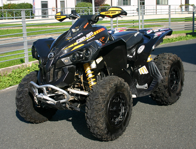 quad can am 800 usato