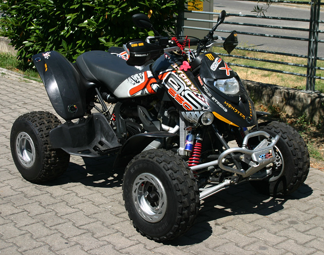quad can am ds 650
